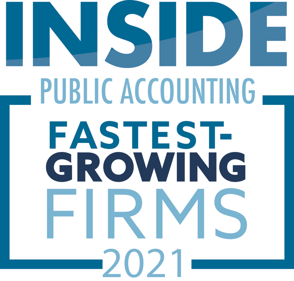 Inside Public Accounting, Fastest Growing Firms 2021 logo