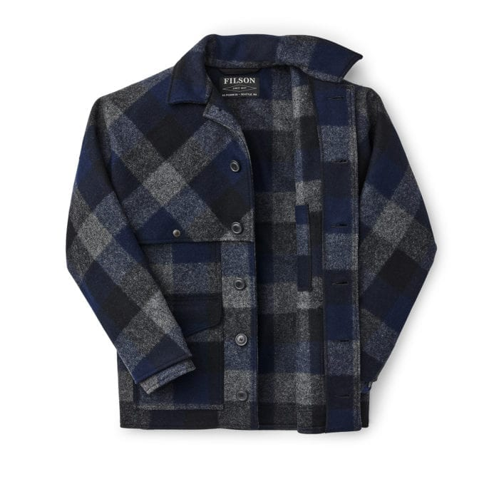 FILSON DOUBLE MACKINAW WOOL CRUISER JACKET 11010041
