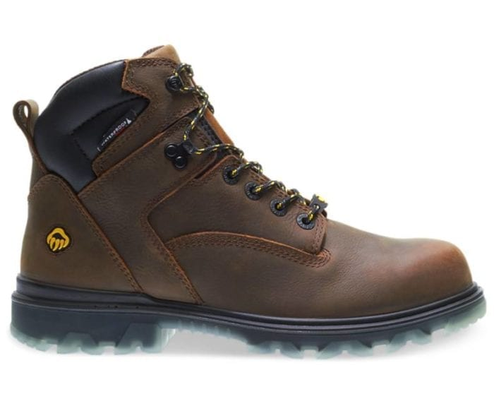 The I-90 features a highly abrasion resistant TPU outsole which lasts 3x longer than other boots, and is resistant to splitting, chemicals and oils.