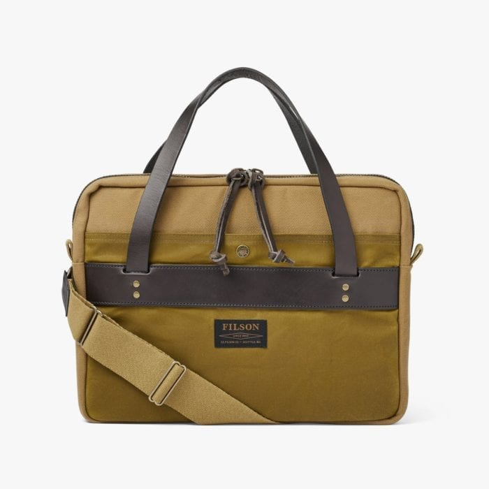 RUGGED TWILL COMPACT BRIEFCASE 20201029
