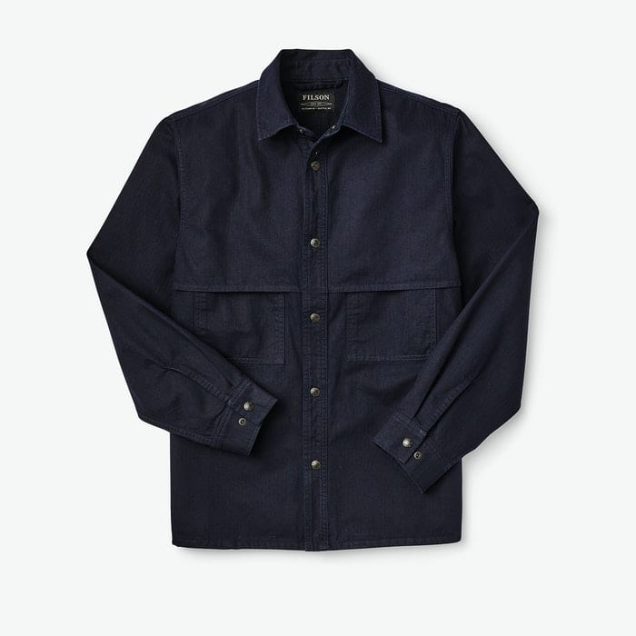 HERRINGBONE JAC-SHIRT 20187378