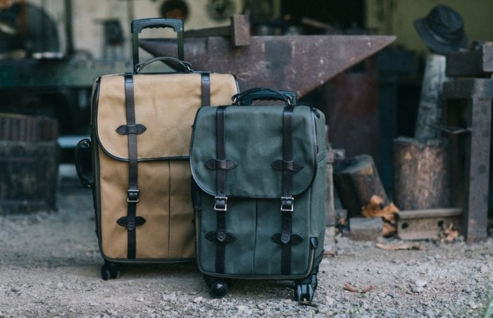 RUGGED TWILL ROLLING 4-WHEEL CARRY-ON BAG 20069583